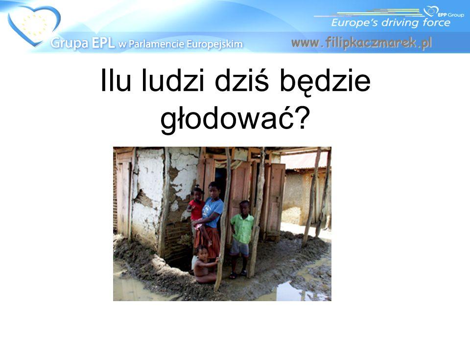 Ilu ludzi dziś będzie głodować? www.filipkaczmarek.pl