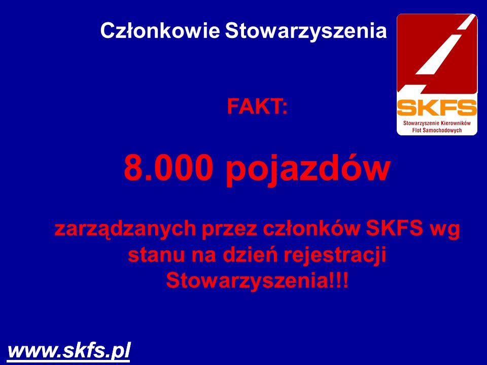 www.skfs.pl Członkowie Stowarzyszenia Członkami - założycielami są osoby z długoletnim doświadczeniem w zarządzaniu flotami uznanych przedsiębiorstw,