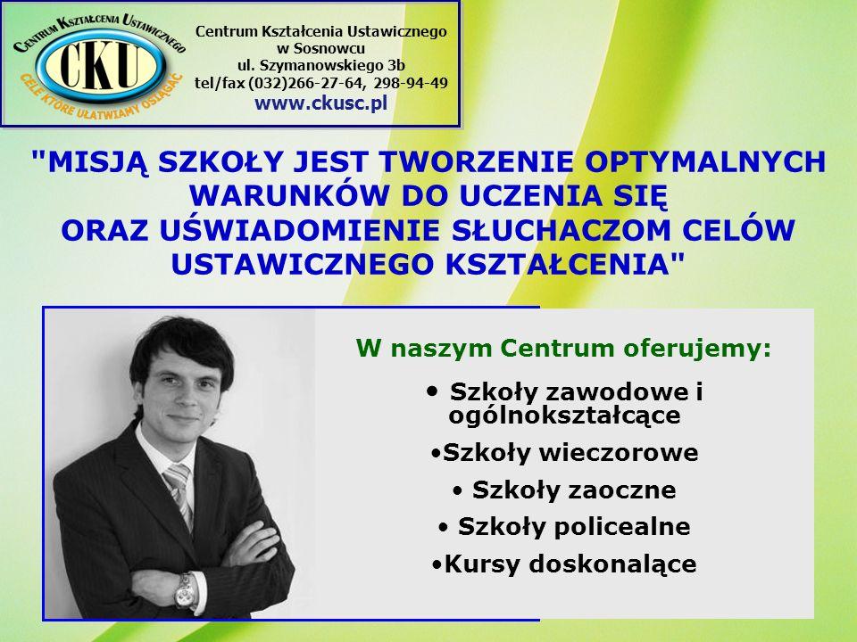 NASZ ADRES: Centrum Kształcenia Ustawicznego ul.
