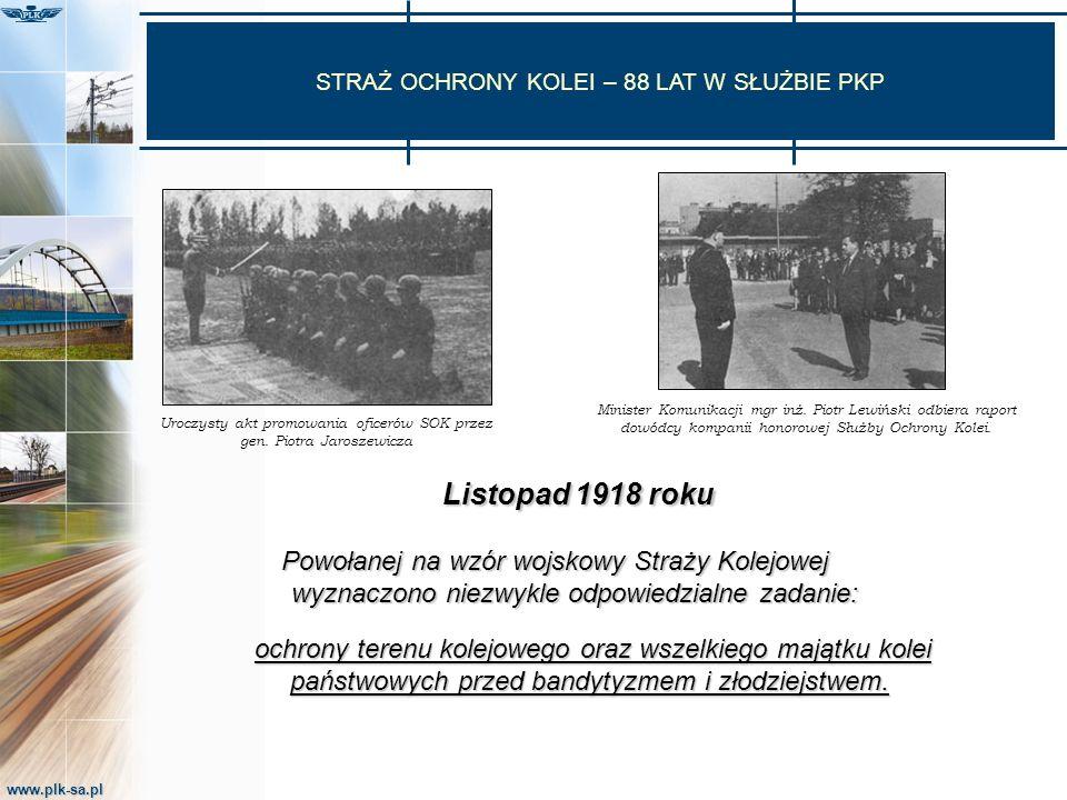 www.plk-sa.pl STRATY Z TYTUŁU KRADZIEŻY I DEWASTACJI NA OBSZARACH KOLEJOWYCH
