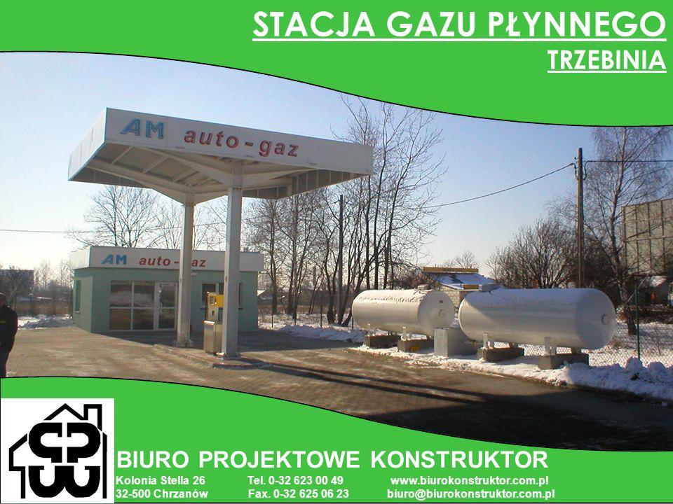 BIURO PROJEKTOWE KONSTRUKTOR Kolonia Stella 26 Tel. 0-32 623 00 49 www.biurokonstruktor.com.pl 32-500 Chrzanów Fax. 0-32 625 06 23 biuro@biurokonstruk