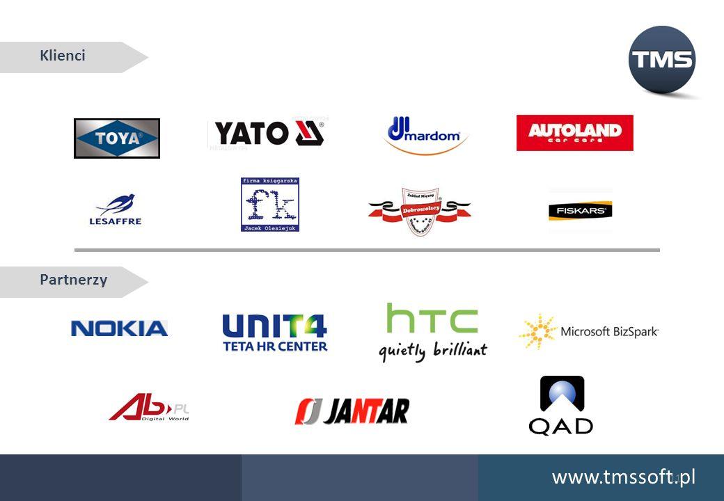 www.tmssoft.pl Klienci Partnerzy 11