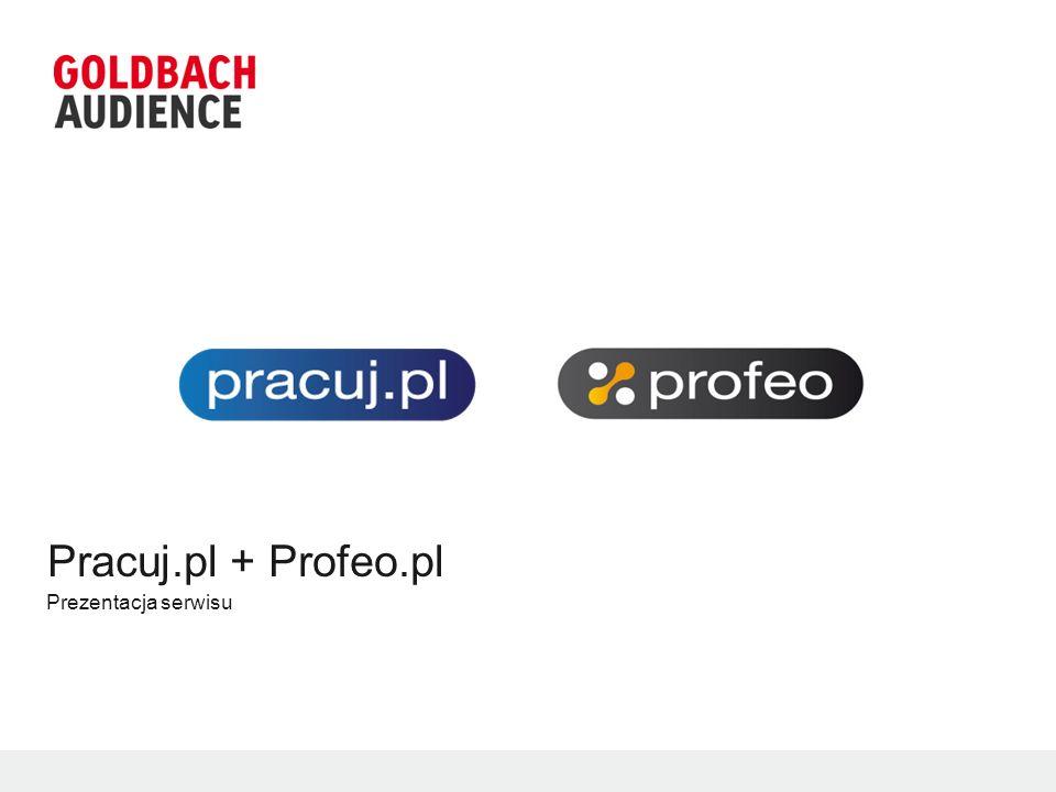 Pracuj.pl + Profeo.pl Prezentacja serwisu