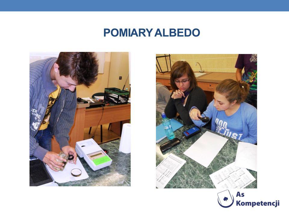 POMIARY ALBEDO