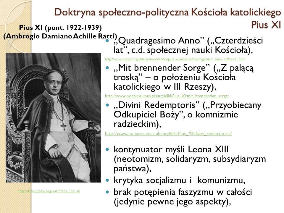 Quadragesimo Anno (Czterdzieści lat, c.d.