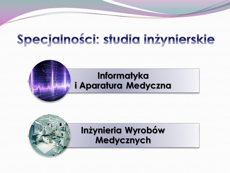 Informatyka i Aparatura Medyczna Inżynieria Wyrobów Medycznych