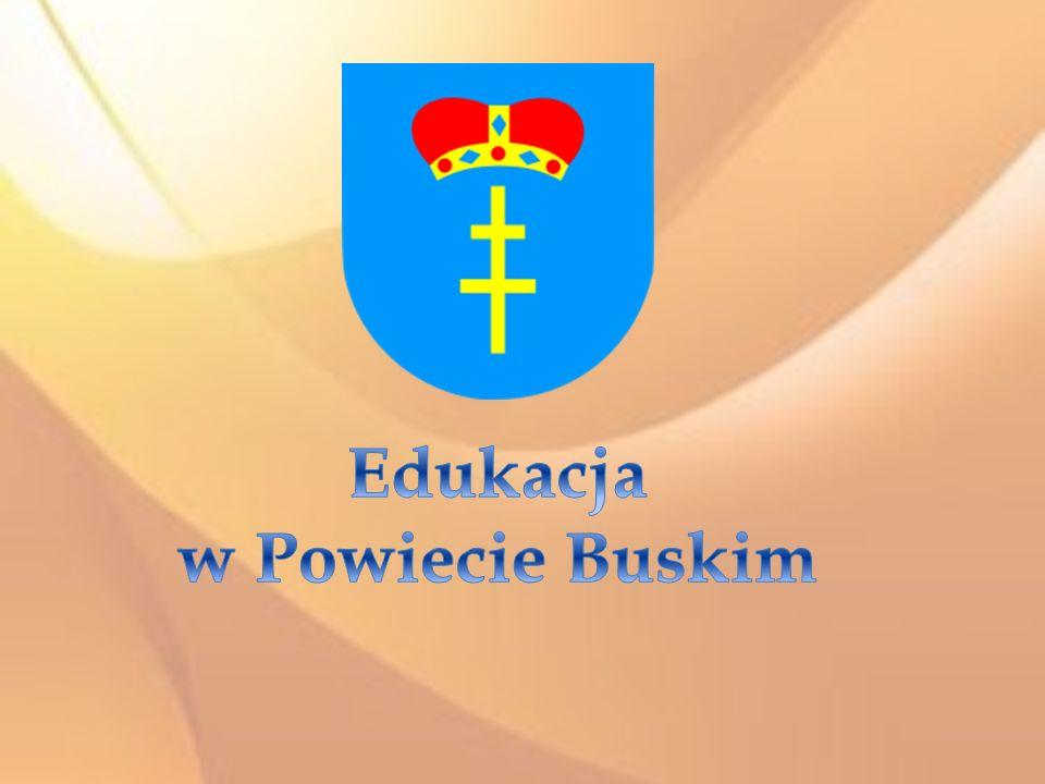 Powiat Buski jest organem prowadzącym dla 11 jednostek oświatowych: I Liceum Ogólnokształcące im.