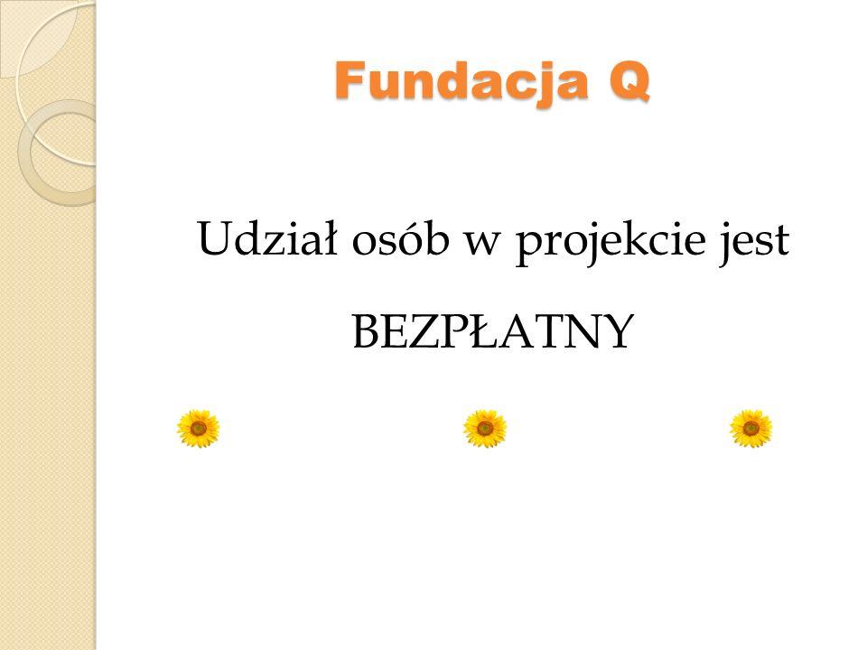 Fundacja Q KONTAKT: Fundacja Q ul.Wieniawska 6/26 20-071 Lublin Tel.