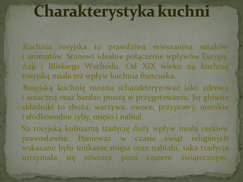 Strogonow - jedno z klasycznych i najbardziej rozpoznawalnych dań rosyjskich.