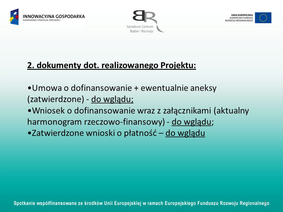 Oświadczenie zawierające informację nt.
