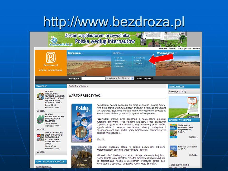 http://www.bezdroza.pl