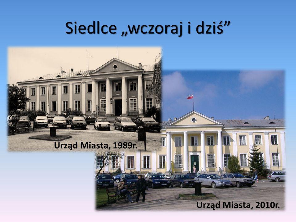 Pałac Ogińskich, 2010r. Pałac Ogińskich, 1989r.