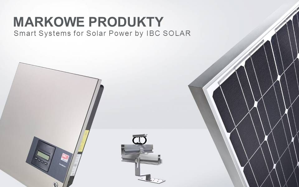 Smart Systems for Solar Power by IBC SOLAR MARKOWE PRODUKTY