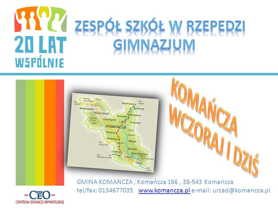 GMINA KOMAŃCZA, Komańcza 166, 38-543 Komańcza tel/fax: 0134677035 www.komancza.pl e-mail: urzad@komancza.plwww.komancza.pl