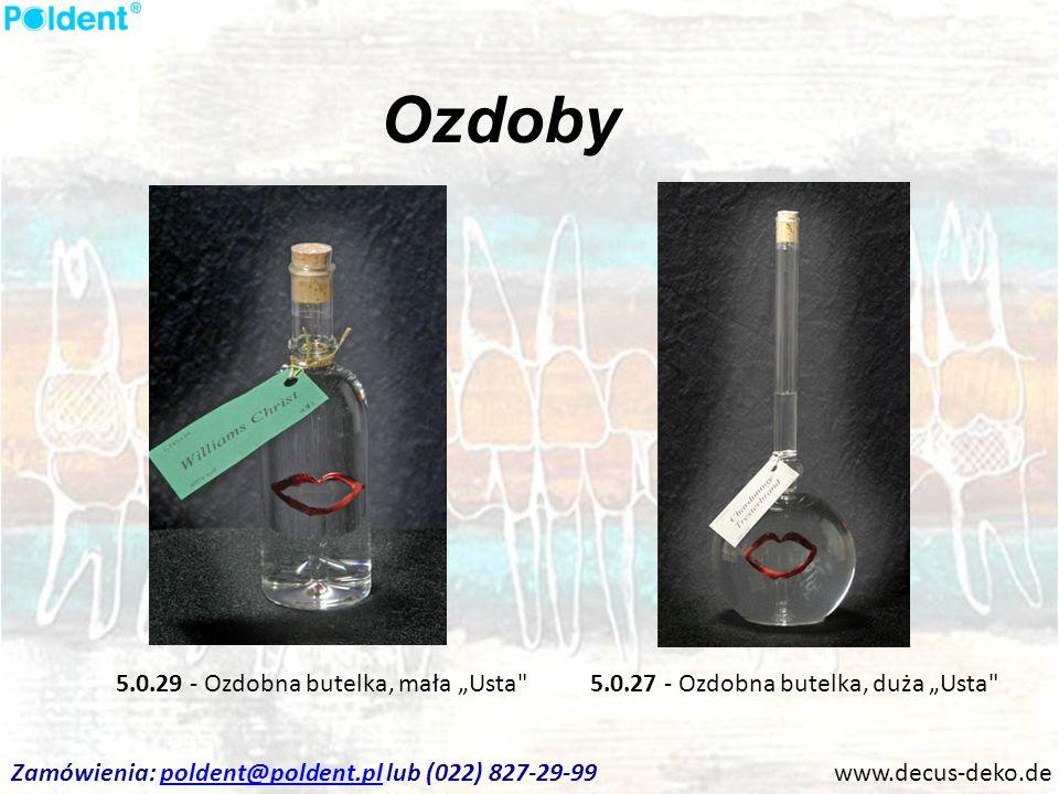 Ozdoby www.decus-deko.de 5.0.27 - Ozdobna butelka, duża Usta