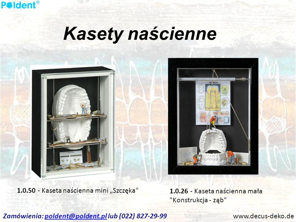Kasety naścienne www.decus-deko.de 1.0.50 - Kaseta naścienna mini Szczęka