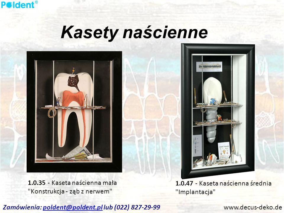 Kasety naścienne www.decus-deko.de 1.0.35 - Kaseta naścienna mała