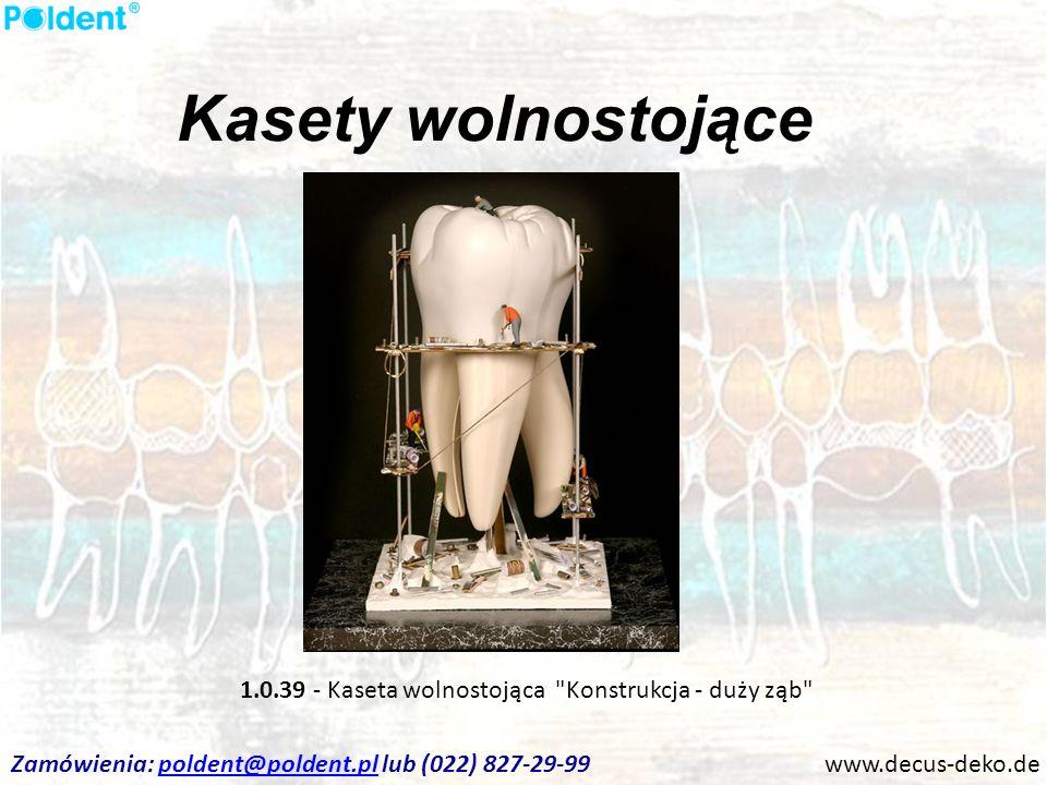 Kasety wolnostojące www.decus-deko.de 1.0.39 - Kaseta wolnostojąca