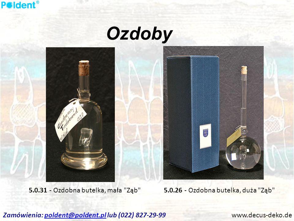 Ozdoby www.decus-deko.de 5.0.26 - Ozdobna butelka, duża