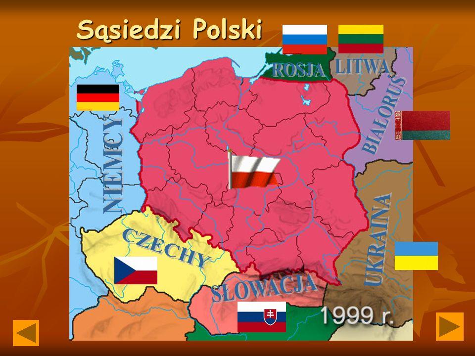 Opracowanie: Bogusław Porzuczek Sąsiedzi Polski