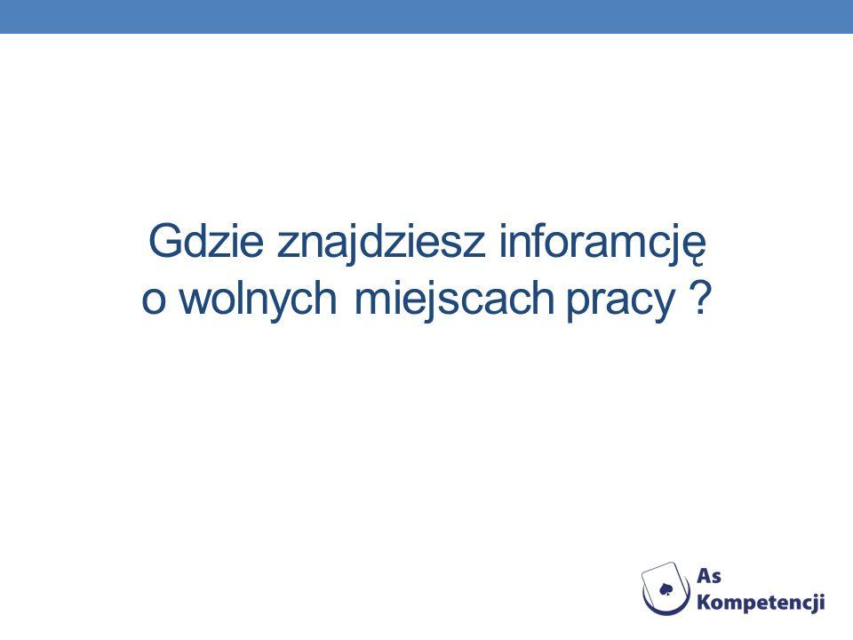 Powiatowy Urząd Pracy Adres: ul. Rawicka 7b 63-700 Krotoszyn www.pupkrotoszyn.pl