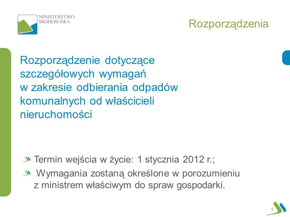 Rozporządzenie w spr.wymagań Rozporządzenie w dniu 23 sierpnia 2011 r.