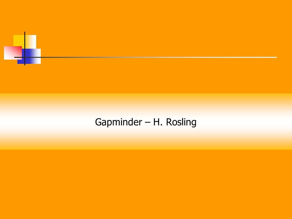 Gapminder – H. Rosling