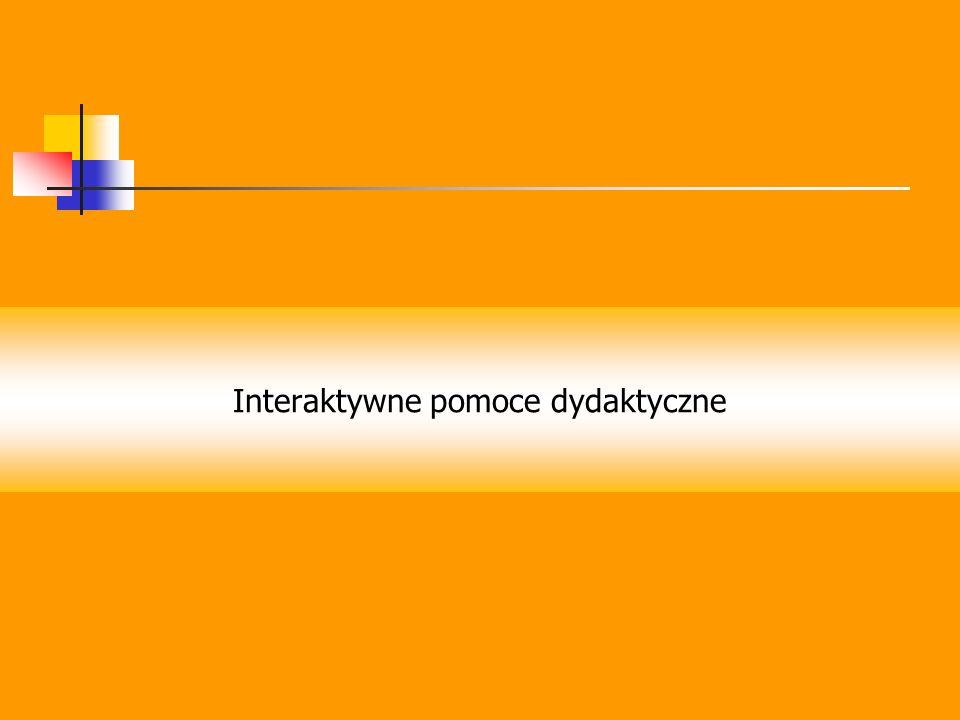 Interaktywne pomoce dydaktyczne