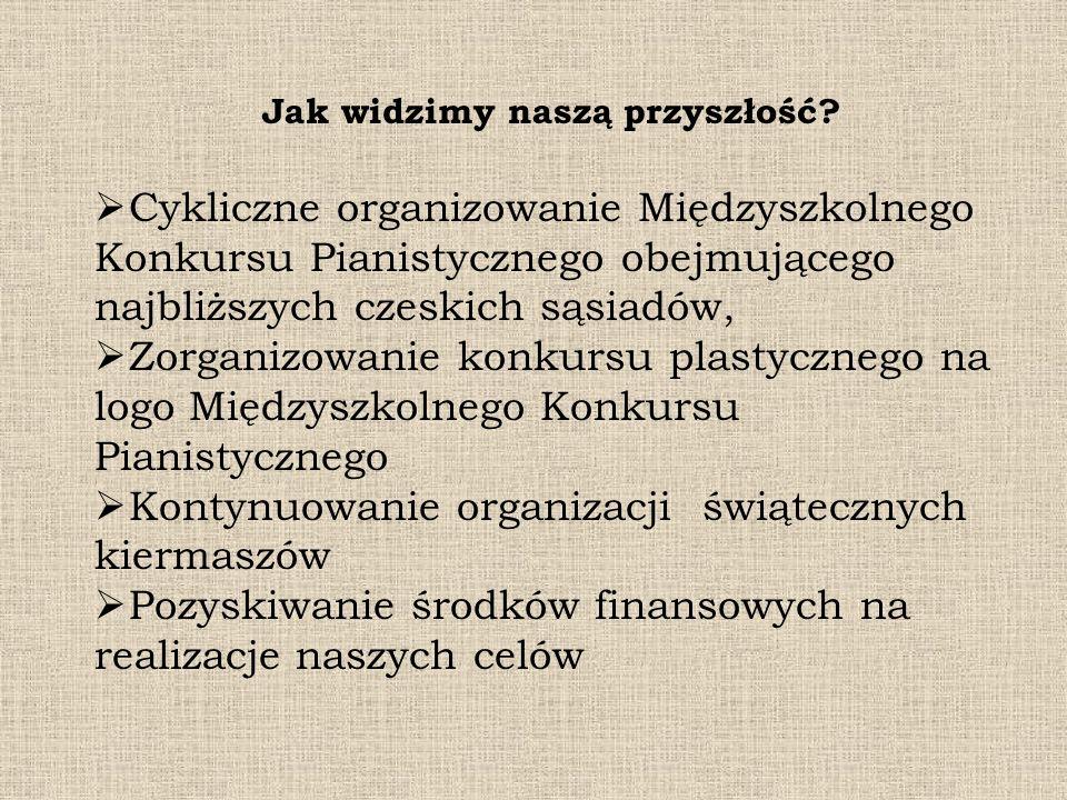 Jak widzimy naszą przyszłość? Cykliczne organizowanie Międzyszkolnego Konkursu Pianistycznego obejmującego najbliższych czeskich sąsiadów, Zorganizowa