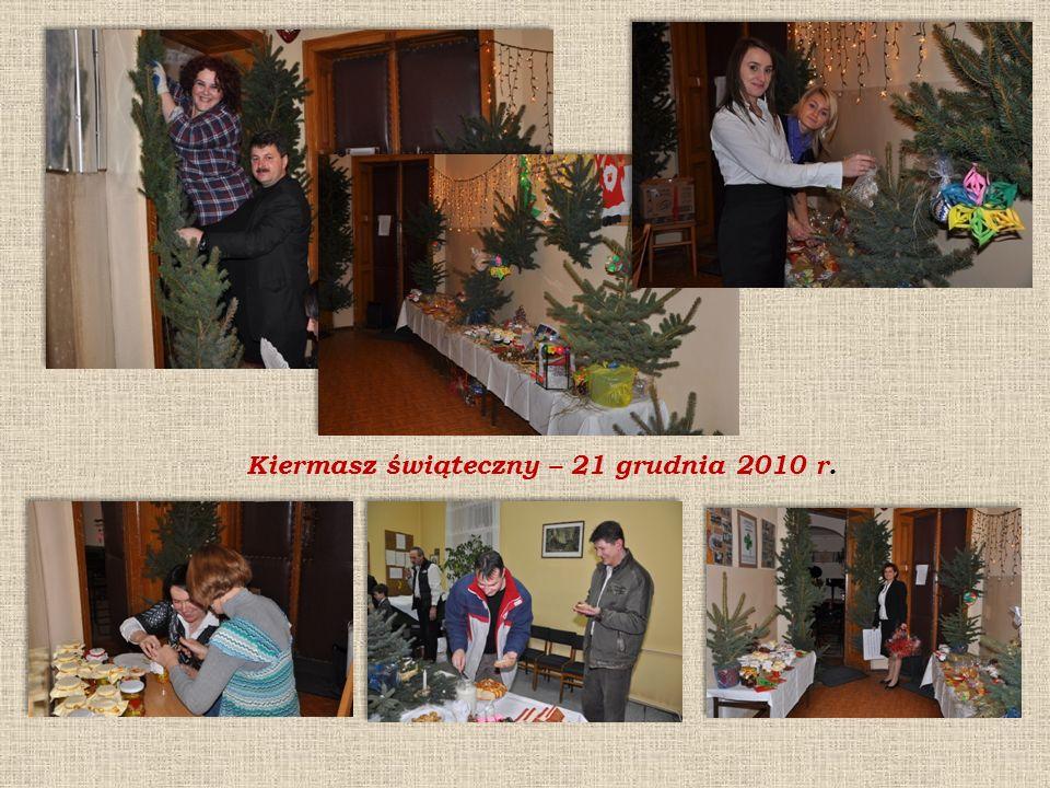 Kiermasz świąteczny – 21 grudnia 2010 r.