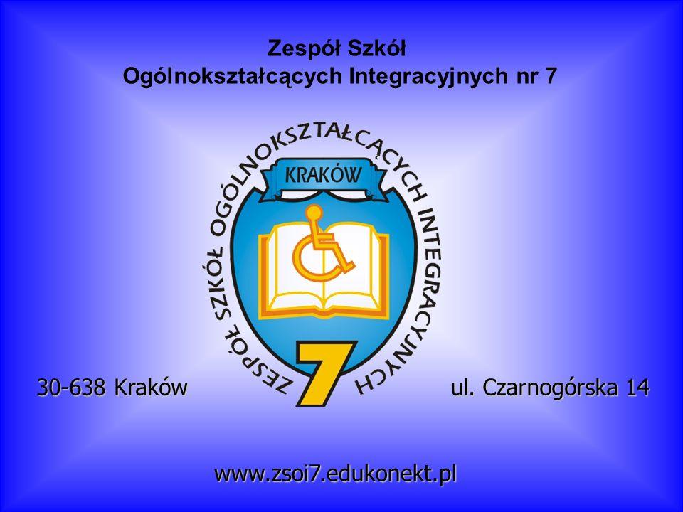 Zespół Szkół Ogólnokształcących Integracyjnych nr 7 ul.