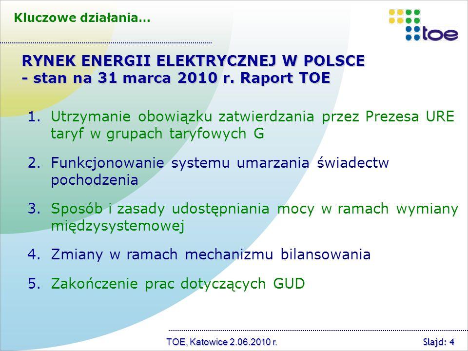 TOE, Katowice 2.06.2010 r.
