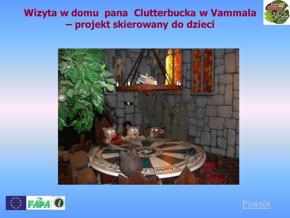 Wizyta w domu pana Clutterbucka w Vammala – projekt skierowany do dzieci Powrót