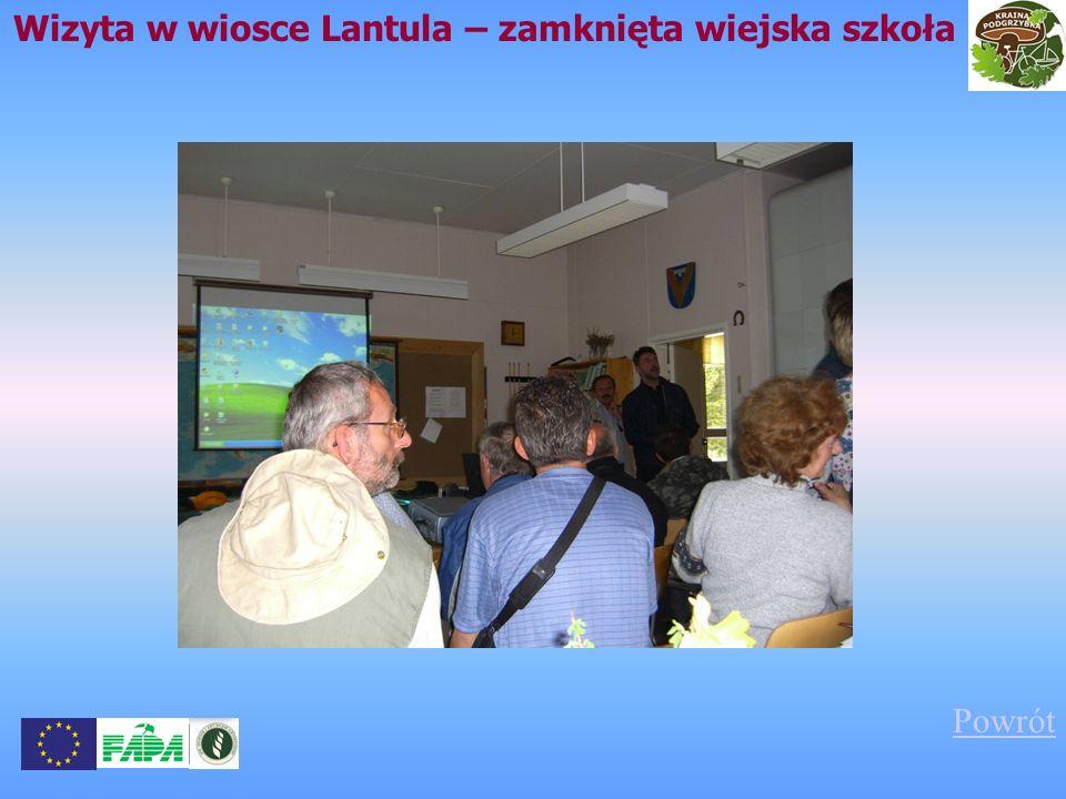 Wizyta w wiosce Lantula – zamknięta wiejska szkoła Powrót