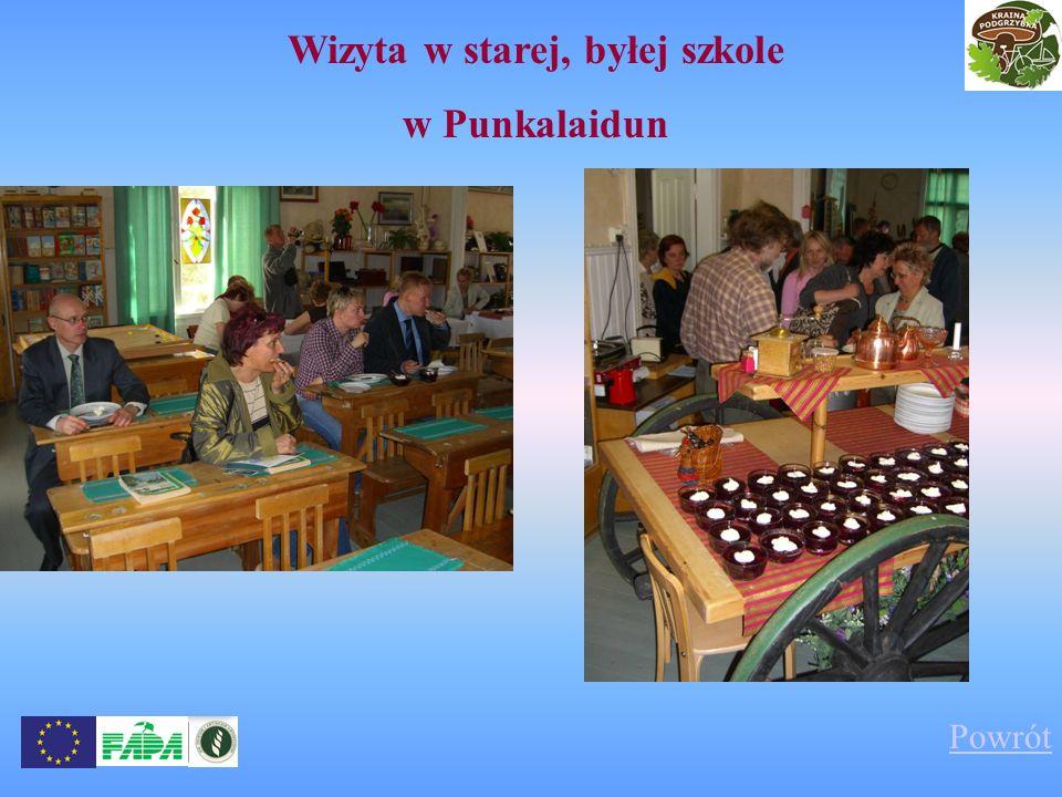Wizyta w starej, byłej szkole w Punkalaidun Powrót