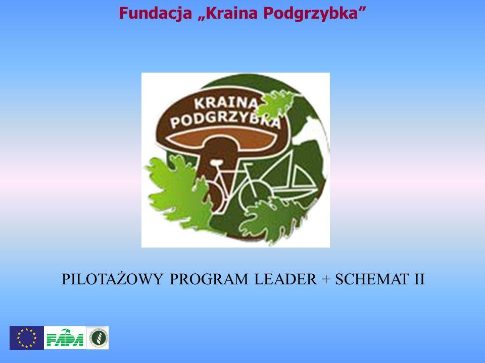 Fundacja Kraina Podgrzybka PILOTAŻOWY PROGRAM LEADER + SCHEMAT II