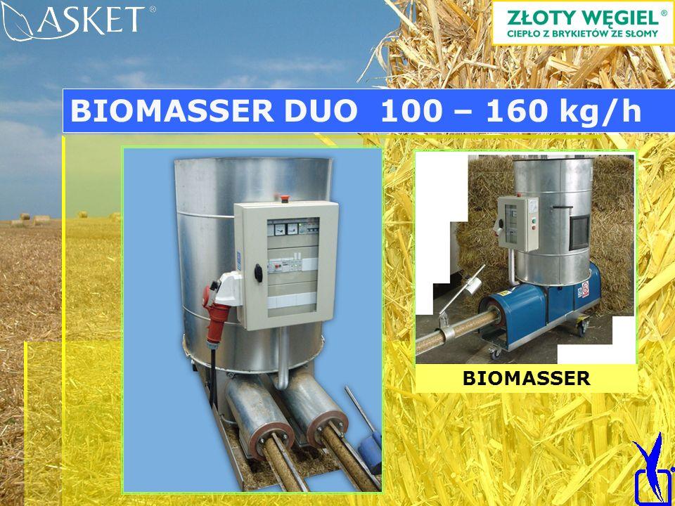 BIOMASSER BIOMASSER DUO 100 – 160 kg/h