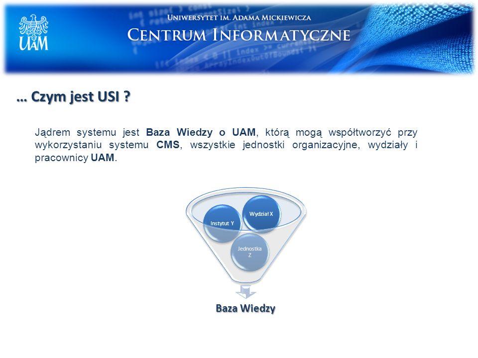 … Czym jest USI .