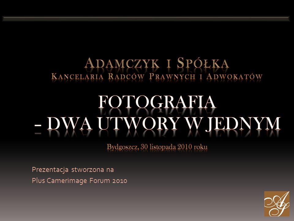 Prezentacja stworzona na Plus Camerimage Forum 2010