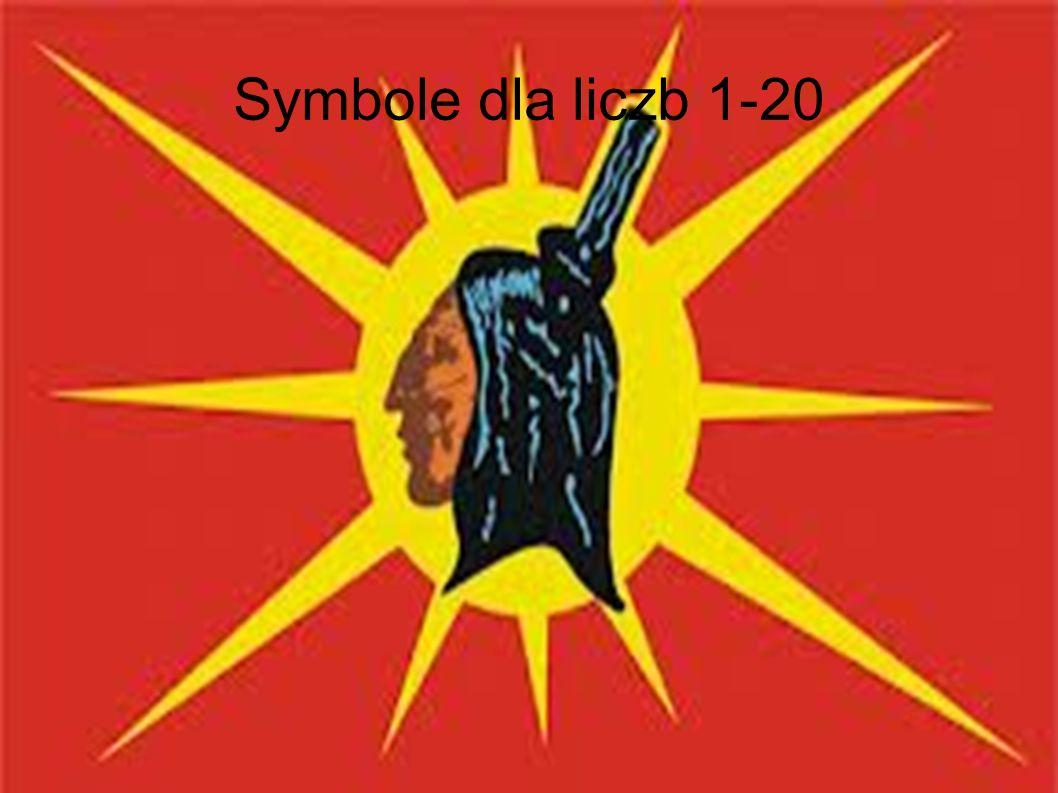 Symbole dla liczb 1-20