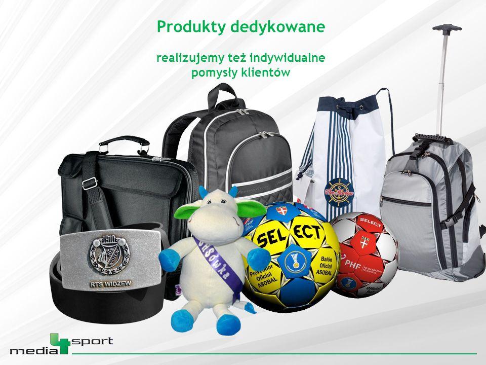 Produkty dedykowane realizujemy też indywidualne pomysły klientów