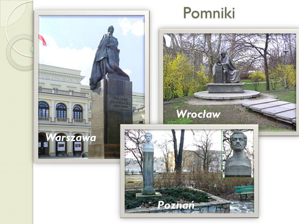 Pomniki Wrocław Poznań Warszawa