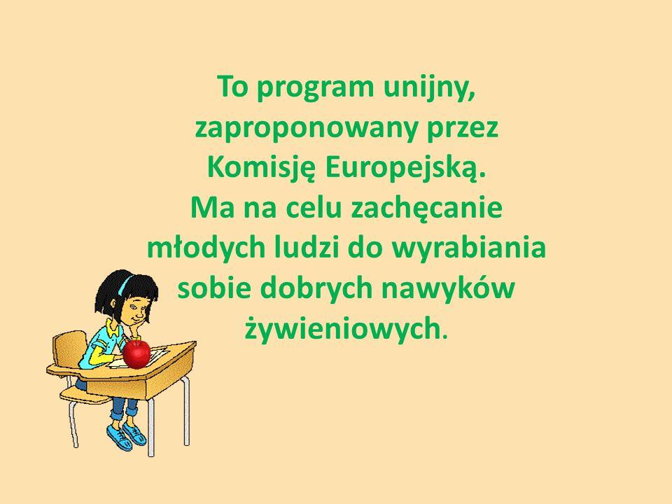 To program unijny, zaproponowany przez Komisję Europejską.