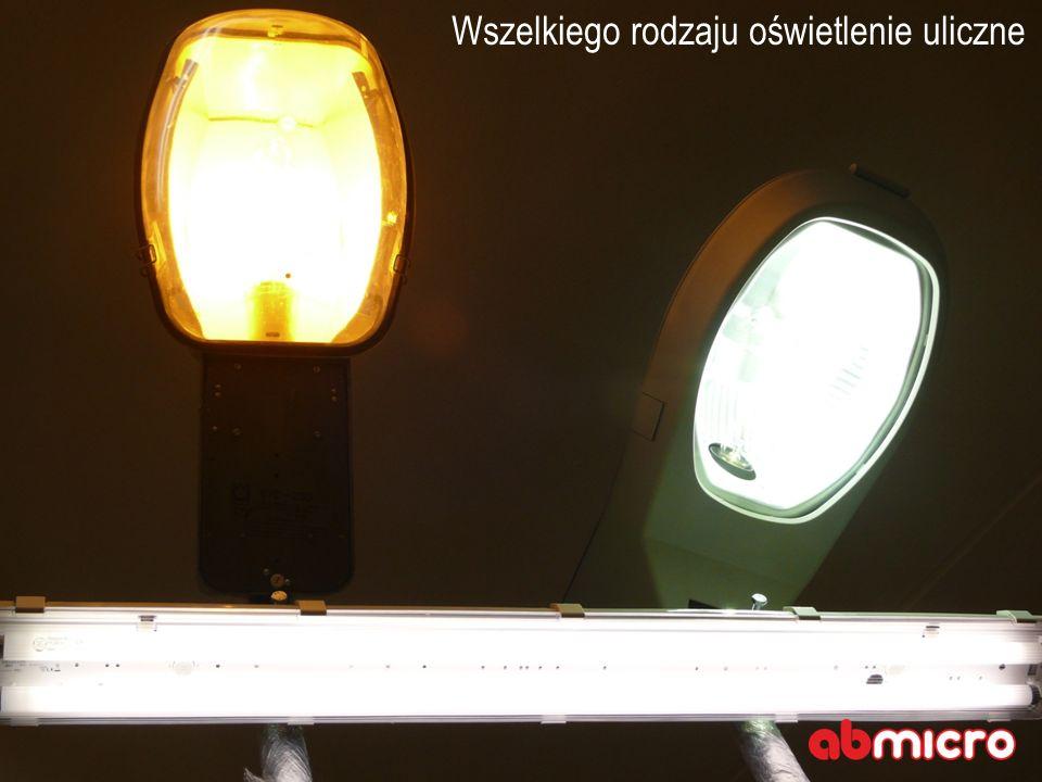 Wszelkiego rodzaju oświetlenie uliczne