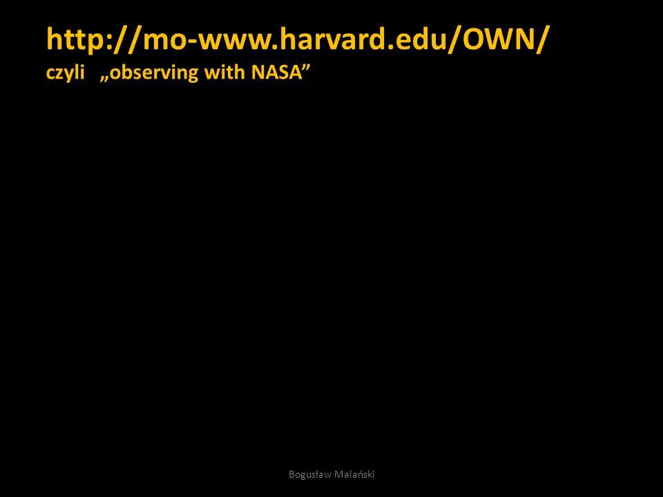 http://mo-www.harvard.edu/OWN 3 proste kroki Bogusław Malański