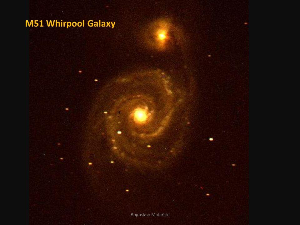 M51 Whirpool Galaxy Bogusław Malański