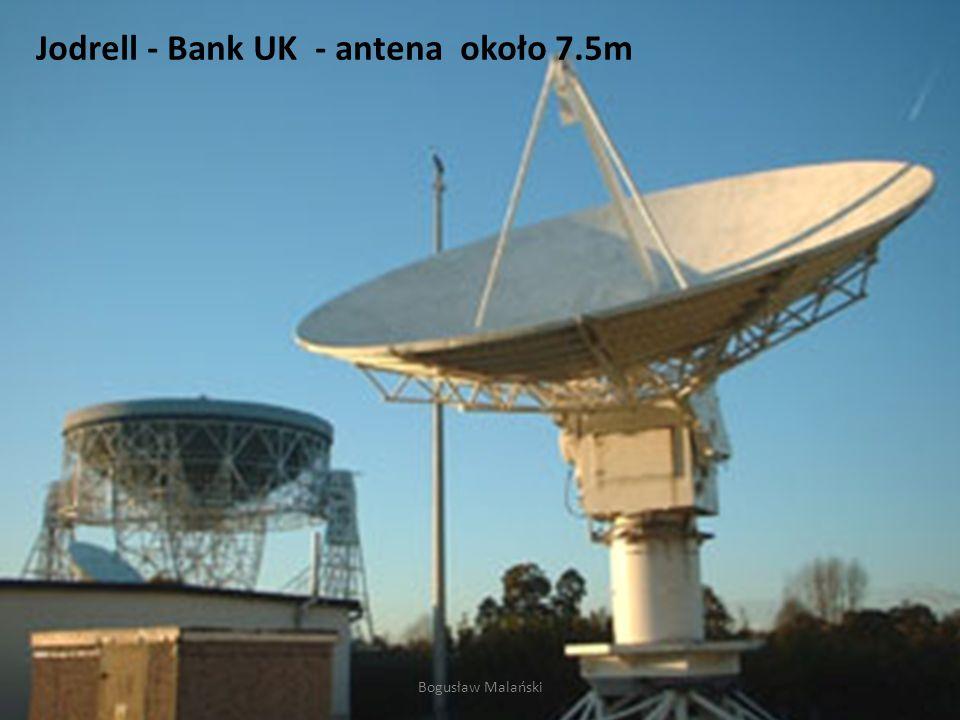 Jodrell - Bank UK - antena około 7.5m Bogusław Malański