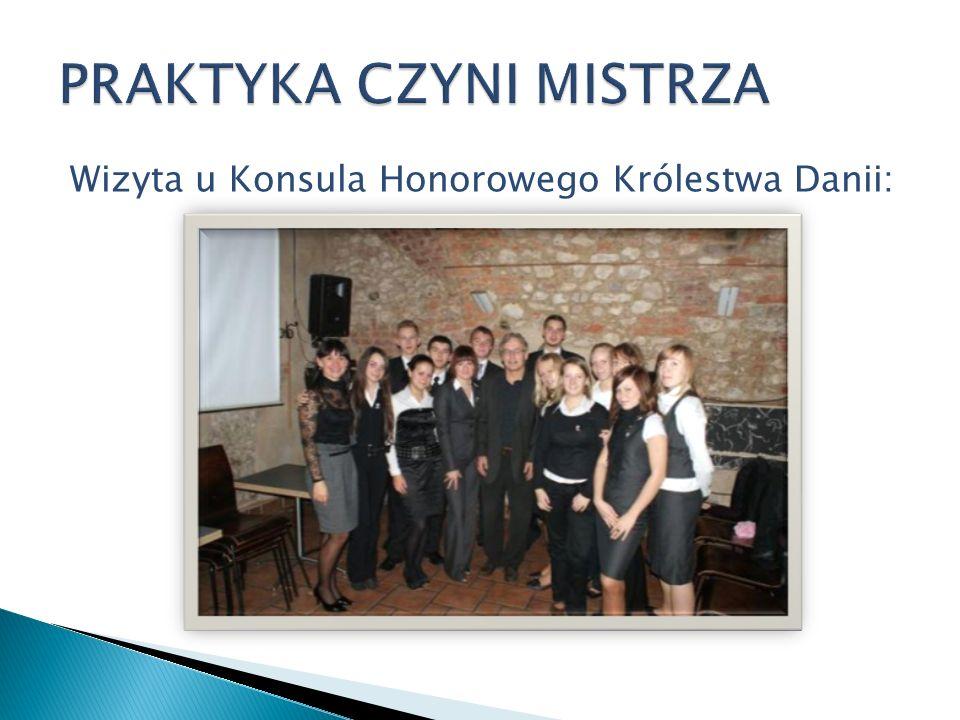 Wizyta u Konsula Honorowego Królestwa Danii: