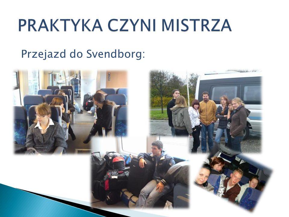 Pierwszy dzień w Svendborg Ehrvervsskole: