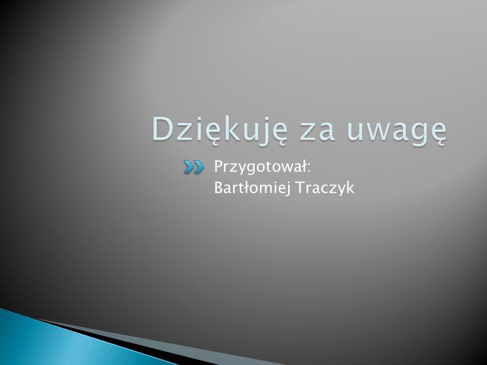 Przygotował: Bartłomiej Traczyk